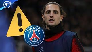Adrien Rabiot mis à pied par le PSG | Revue de presse
