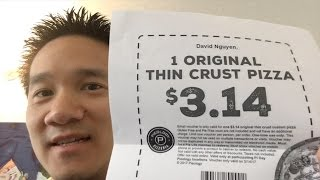 VLOG#016 - Pieology for Pie Day!  ... attempted two tries, did I get my Pizza?