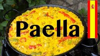 Cómo hacer Paella con pollo y magro de cerdo - Receta española