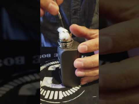 KYLIN RTA// How to: rewick(change cotton)