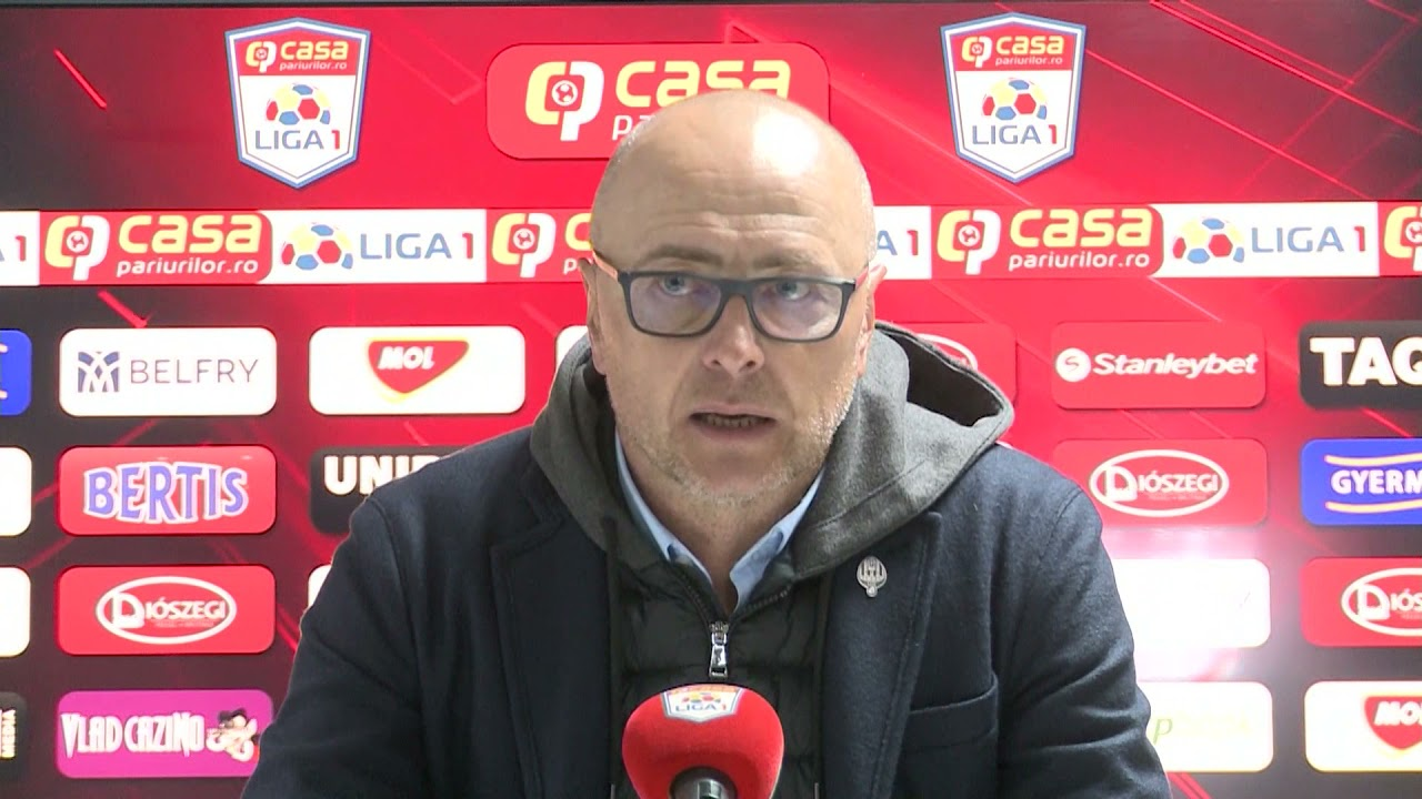Conferinta de presa  Leo Grozavu   Sepsi   FCSB  PlayOff Etapa8 2020 2021