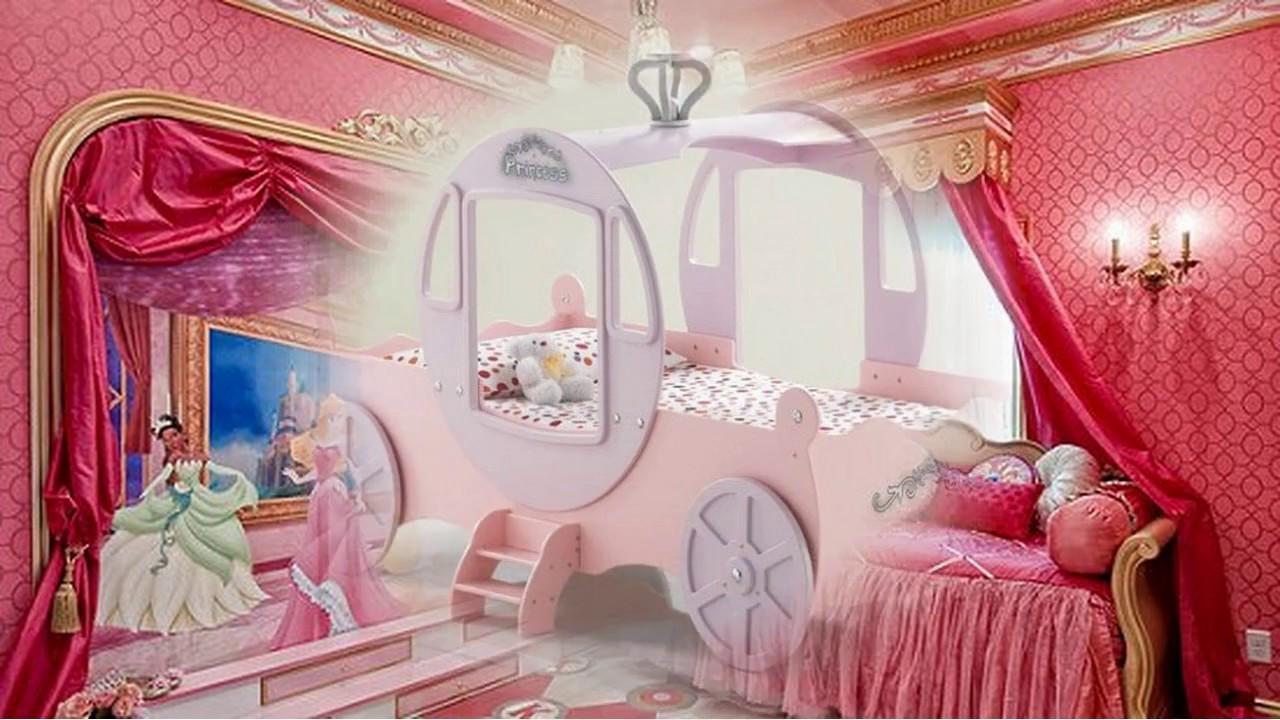 Disney Princess Room Decorating Ideas Youtube