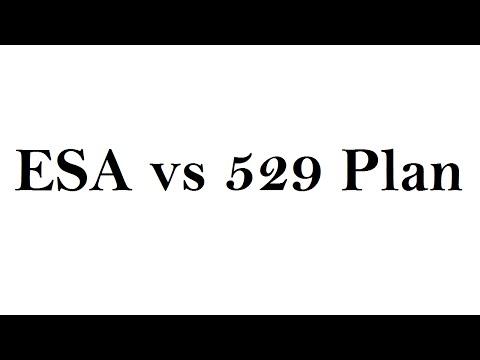 5 minute finance ESA vs 529