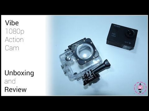 Unboxing And Review | Vibe 1080p Action Camera From Argos!
