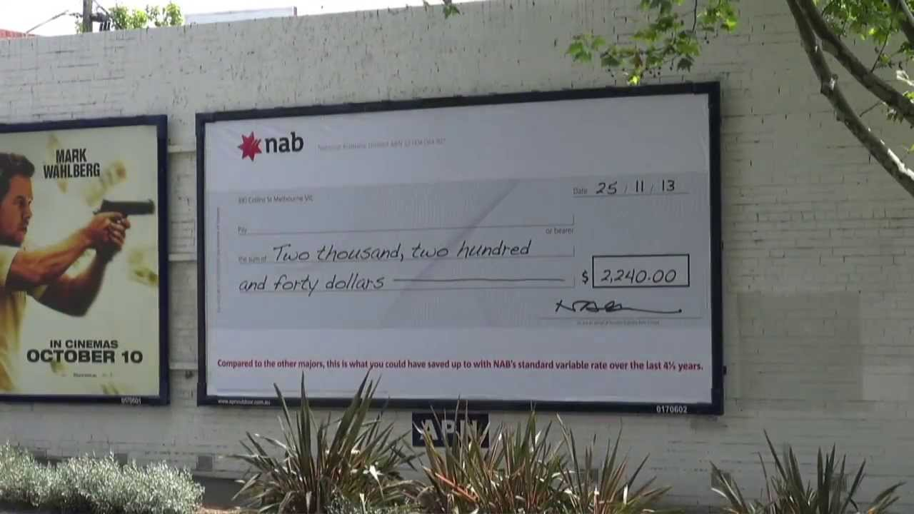 how to bank a cheque nab