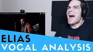 Vocal Analysis of Elias the Wrestler (WWE)