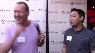 Out with Kawaller and the Log Cabin Republicans