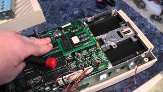 Alignment of the 1541 Disk Drive - Opening and adjusting