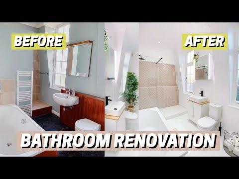 bathroom-renovation!-before-&-after-🛁
