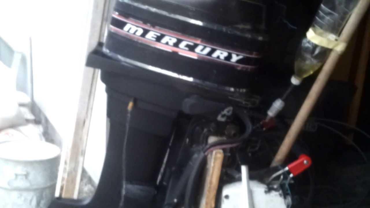 mercury 500 thunderbolt 50 hp youtube. Black Bedroom Furniture Sets. Home Design Ideas