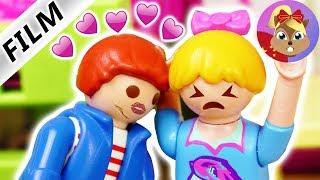 摩比游戏 Playmobil 玩偶影片 尤里斯喜欢汉娜 汉娜的初吻????