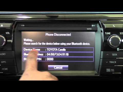 2014 Toyota Corolla Connect Android Phone How To By Brookdale Toyota - Minneapolis/St. paul MN