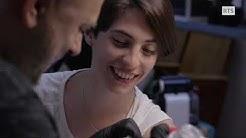 "Cedric Cassimo dans le documentaire ""Ni d'Eve, ni d'Adam. Une histoire intersexe."""