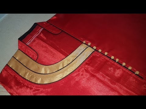 Image result for Latest Front Neck Designs with Foam Button and Dori Piping