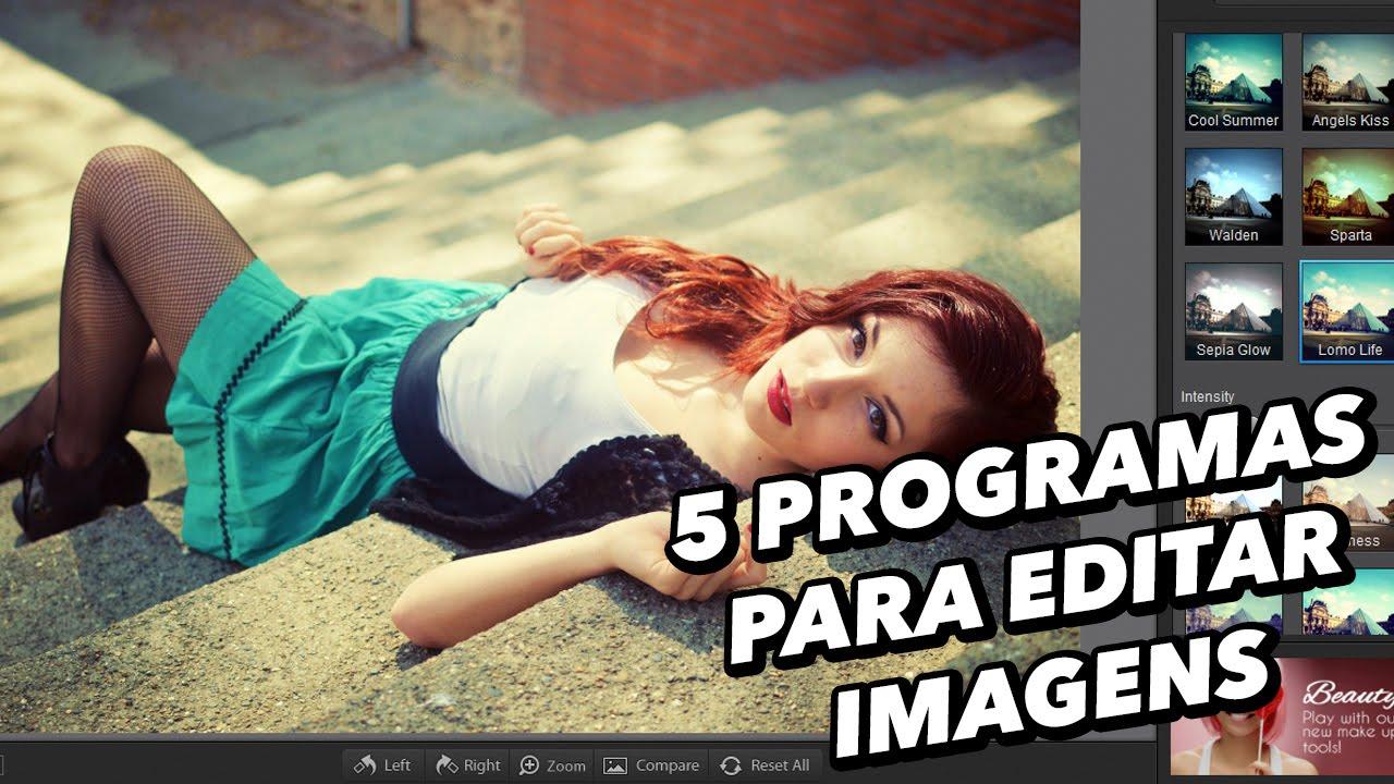 5 programas para editar imagens baixaki youtube for Programa para disenar dormitorios