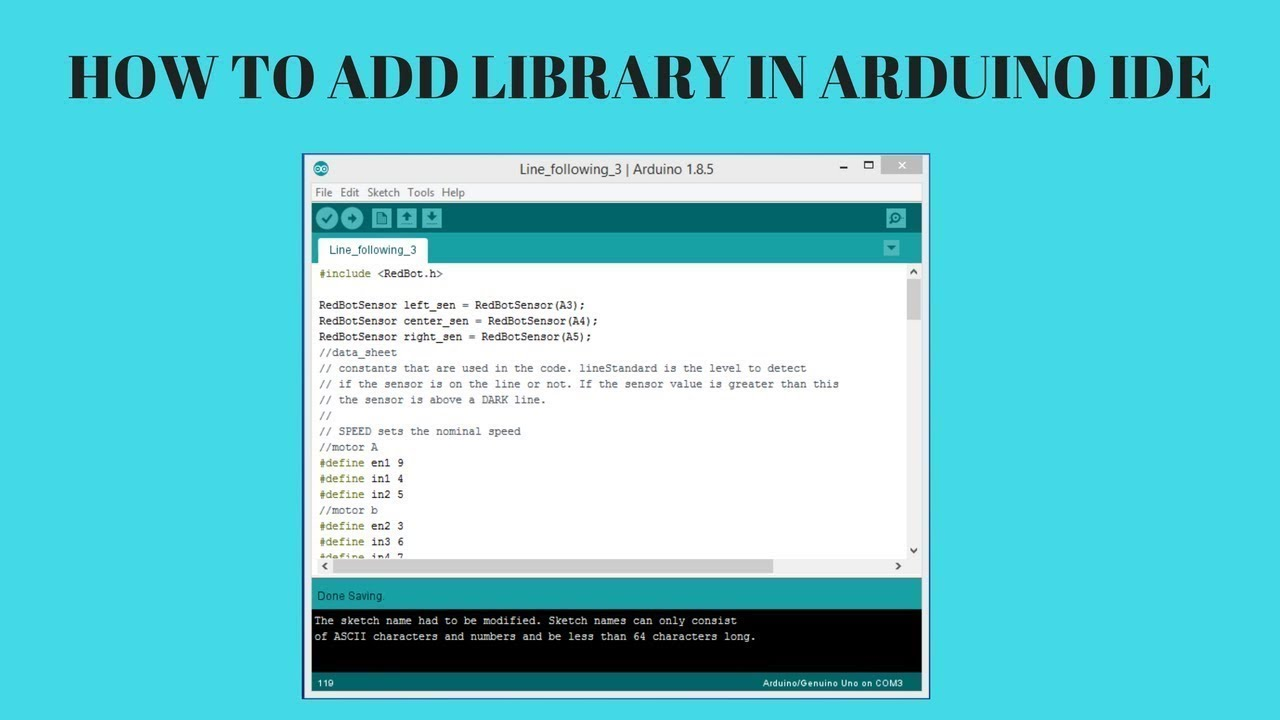 How To Add Zip File Library To Arduino IDE