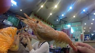 All you can fish shrimp (prawn) in Taipei