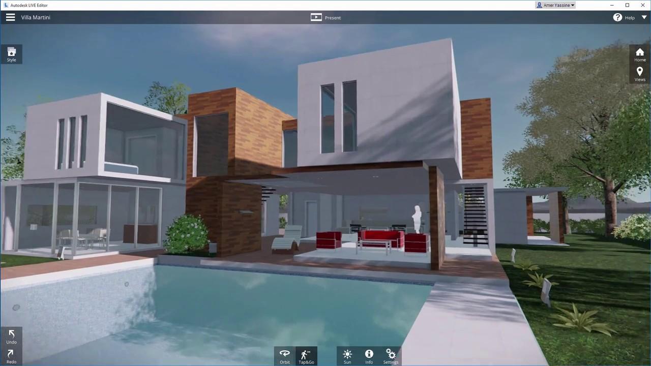 Autodesk live for revit demonstration youtube for Autodesk home design