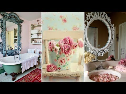 ❤ DIY Rustic Shabby chic Bathroom decor Ideas | Interior design & Home Decor| Flamingo mango |❤
