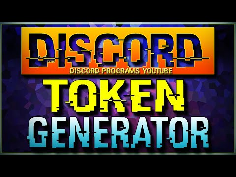 Discord Token & Account Generator 2019 Free / How To Get Discord Tokens