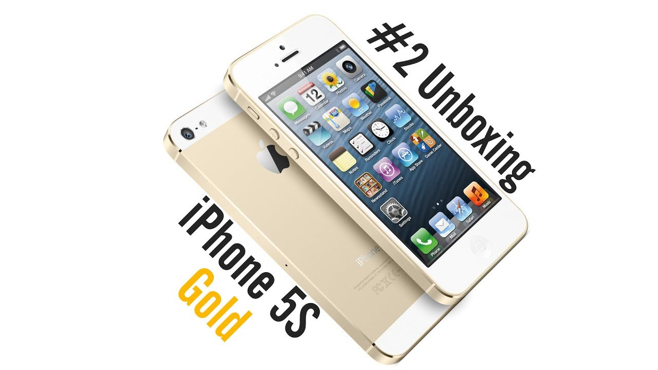 iPhone 5S 16GB Gold - #2 Unboxing - AppleNaYouTube - PL ...Iphone 5s Champagne Gold Unboxing
