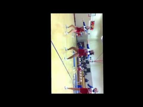 Moberly middle school 2014-2015 cheer dance
