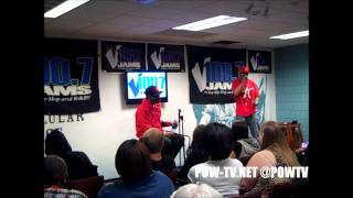 Juicy J Press Conference & Interview