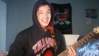 nothing  nowhere   blood acoustic version guitar tutorial