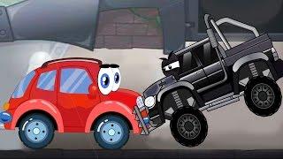 Машинка ВИЛЛИ ЛОВИТ ГРАБИТЕЛЕЙ БАНКА мультик игра для детей WELLY car CATCHES BANK ROBBERS cartoon