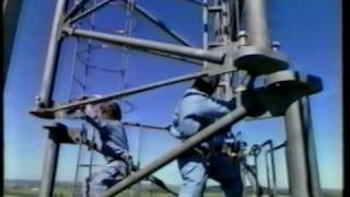 Erection of antenna tower