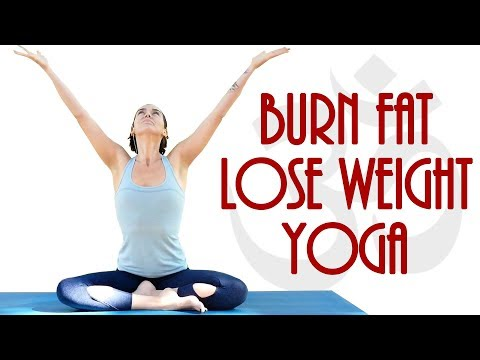 Beginners Power Yoga for Weight Loss with Julia ♥ 20 Minute Yoga Class At Home, Vinyasa Flow, How to