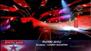 YouTube   Putri Ayu ft  Aning Katamsi  Tell Him  FINAL5 Indonesia Mencari Bakat 15 AUG 2010 HD2