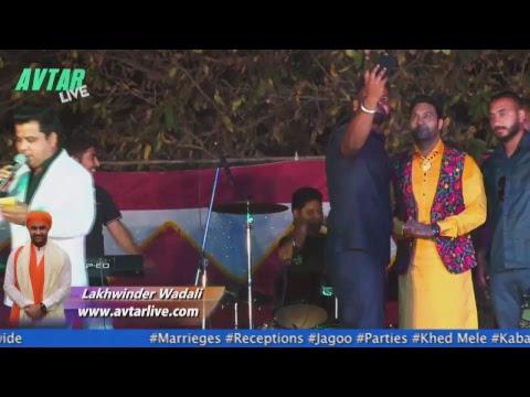 Live Lakhwinder Wadali Mazara Raja Sahib...