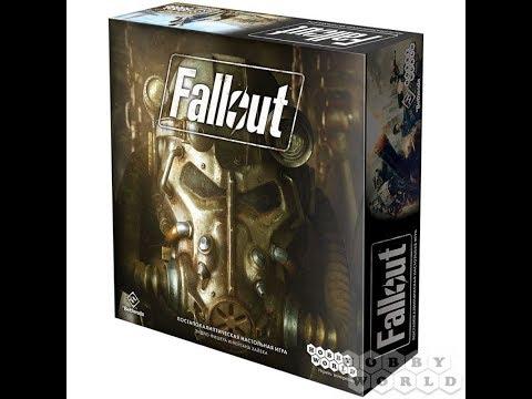 Fallout. Настольная игра 1/2 часть - играем в настольную игру.