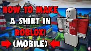 как сделать футболку в роблокс на андроид