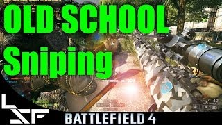 Old School: BF4 Gol Magnum Aggressive Recon - Sniping Tips Battlefield 4