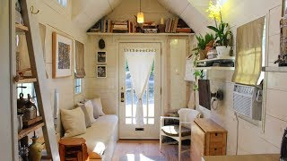 The 160 Sqft Tiny Hall House Diy Tiny House In New England | Living Design For A Tiny House