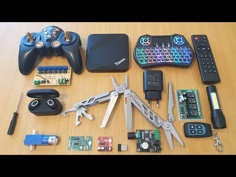 Gadgets: Remote Control, Multi-tool, Bluetooth Amps, Android Box And More