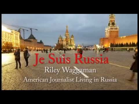 Riley Waggaman - American Journalist Living in Russia