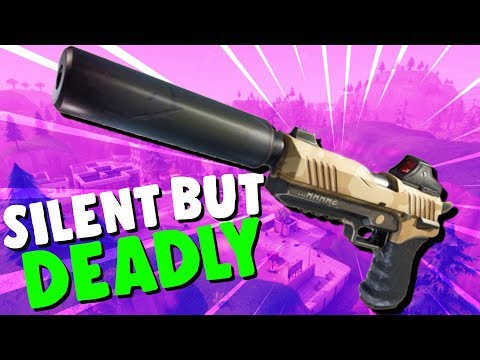 SILENT But DEADLY! - Fortnite Sneaky Silencers! -  Fortnite Battle Royale Gameplay