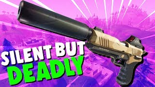 SILENT But DEADLY Fortnite Sneaky Silencers Fortnite Battle Royale Gameplay