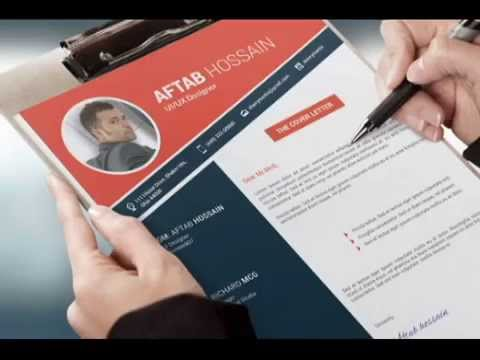 How to make Professional resume design for your creative job - YouTube