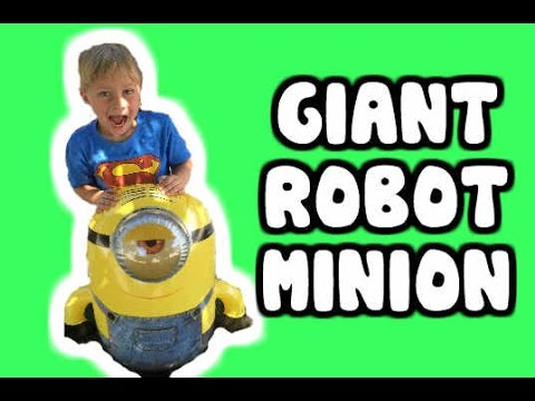 Giant Inflatable Minion Youtube