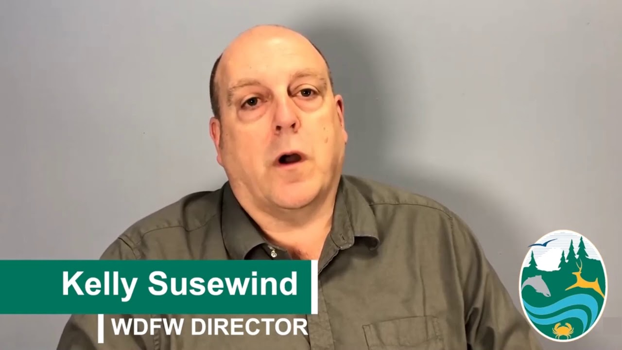 WDFW Director Kelly Susewind on Closures 2020-04-02