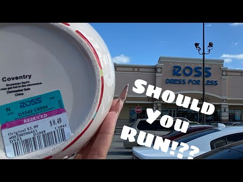 Ross Dress For Less | TONS Of .49 | Did It Start Yet?
