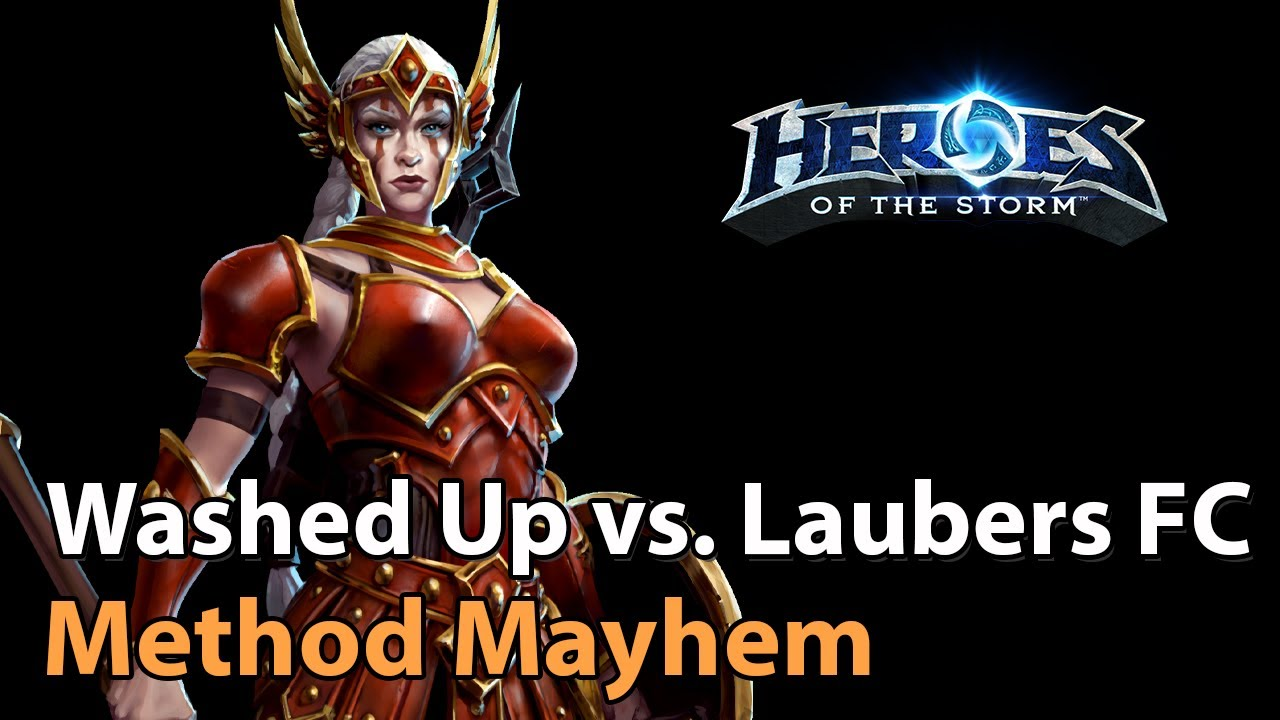► Method Mayhem #2 - Washed Up vs. Lauber's Fanclub - Heroes of the Storm Esports