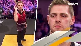 Nächstes Tränen-Drama: Darts-Profi trotzt Krankheit   SPORT1