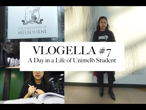 VLOGELLA #7 | A Day in the Life of Melbourne University Student