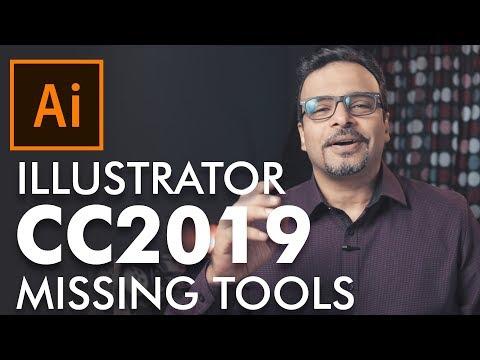 Missing Tools in Illustrator CC 2019  - اردو / हिंदी thumbnail