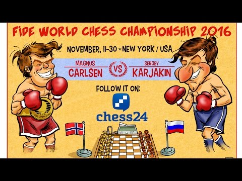 My Coverage of the World Chess Championship 2016